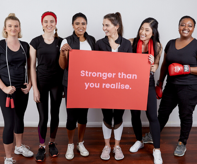 Anyone can take part in the Strong Women Challenge, no matter your gender, age, location or level of fitness.