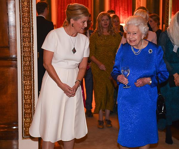 Speaking at a royal reception for The Queen Elizabeth Diamond Jubilee Trust, Countess Sophie let slip the sweet name she gives her mother-in-law, the Queen which is Mama.