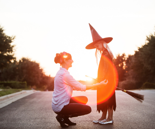 Q: What do witches put in their hair? A: Scare spray