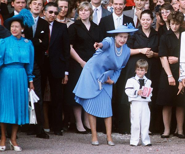 "When he was little, Prince William used to call the queen ""Gary"" because he couldn't pronounce Granny. Bless his cotton socks!"