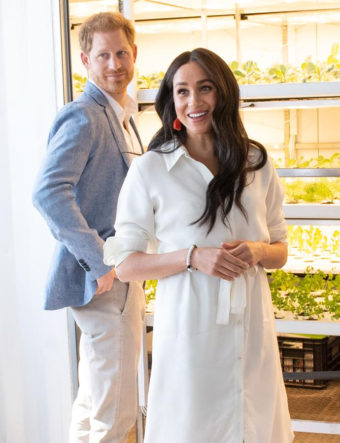 "While speaking to interviewer Tom Bradby for their *Harry & Meghan: An African Journey* documentary, Duchess Meghan revealed her one-lettered nickname for her husband. ""I've said for a long time to H..."". At that point she elaborated, adding: ""That's what I call him."""