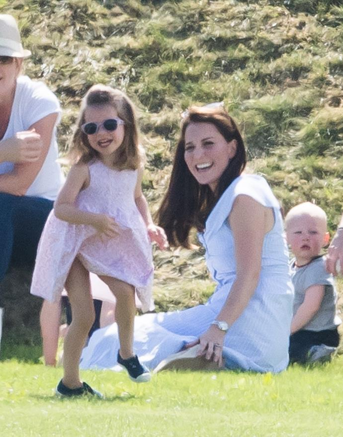 "While chatting to a blogger and mum-of-two in Belfast, Duchess Catherine revealed that she calls her daughter Princess Charlotte, ""Lottie""."
