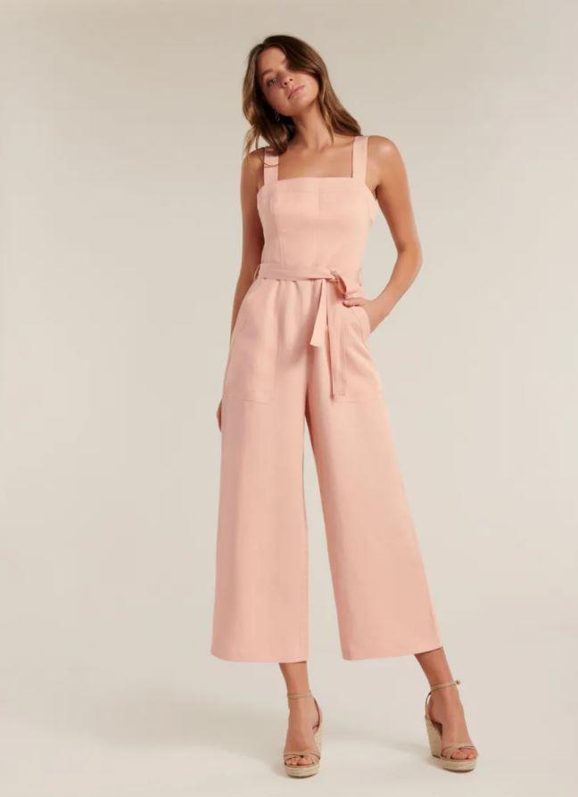 "Forever New heather utility jumpsuit, $139.99. [Buy it online here](https://www.forevernew.com.au/heather-utility-jumpsuit-261662?colour=pink|target=""_blank""