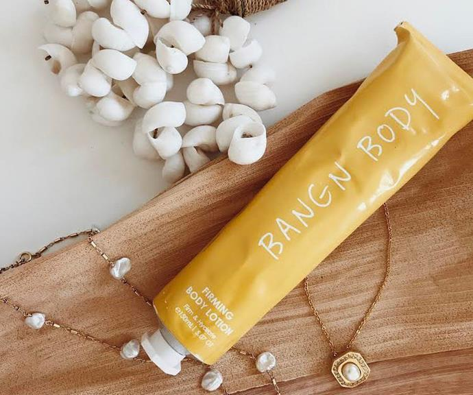 Bangn Body's famous Firming Body Lotion has become a cult favourite product online.