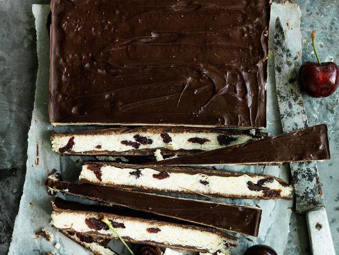 "These divine **[choc-cherry coconut bars](https://www.womensweeklyfood.com.au/recipes/choc-cherry-coconut-bars-29440|target=""_blank"")** will have you craving for more, after just one bite!"