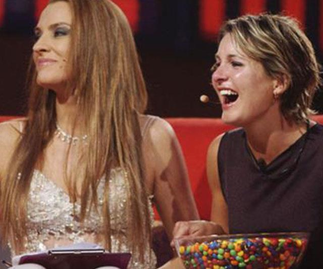 Back for more? Rumours are circling Gretel Kileen (left) could be back to host with Reggie (right) as an assistant.
