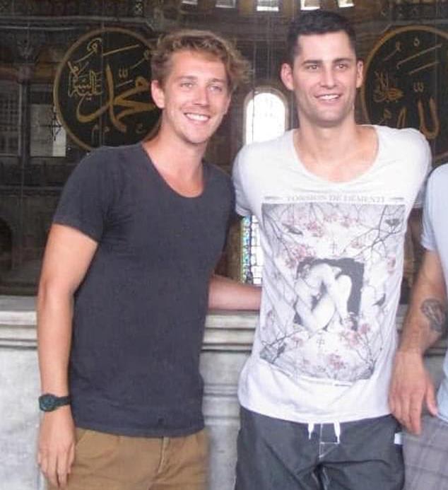 Symon Lovett from *Gogglebox* (left) pictured alongside Jamie Doran (right) from *The Bachelorette*.