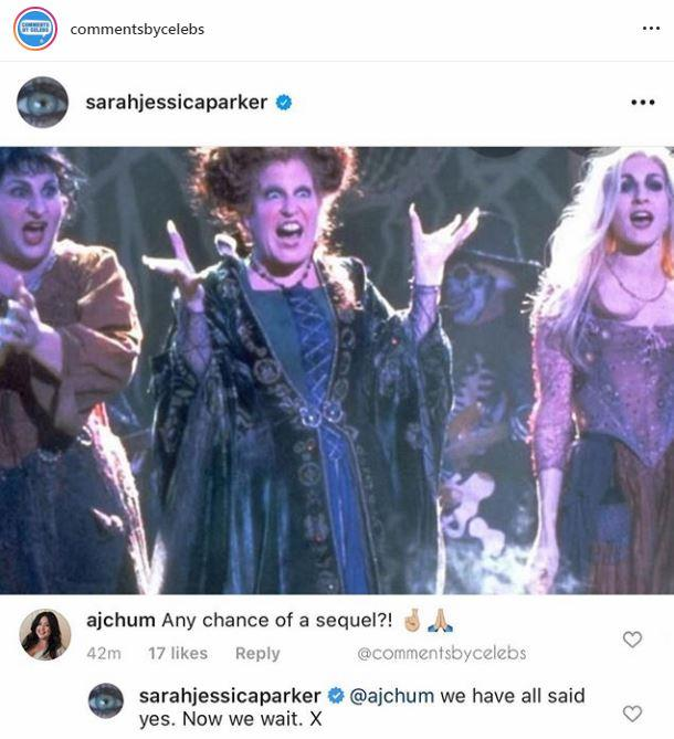 SJP hints the trio could return.