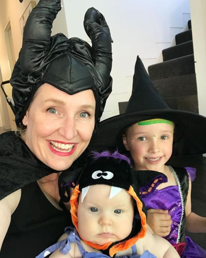 Speaking of adorable witches, Fifi Box and daughters Trixie and Daisy looked adorable in their get-up.