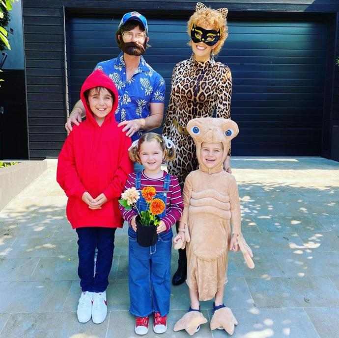David Campbell and his family love getting into the Halloween spirit but we are mad for this *E.T* group costume.