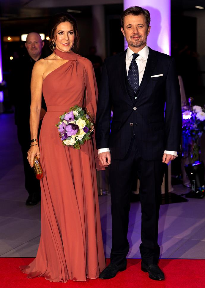 Mary and Frederik were absolutely glowing at the event.