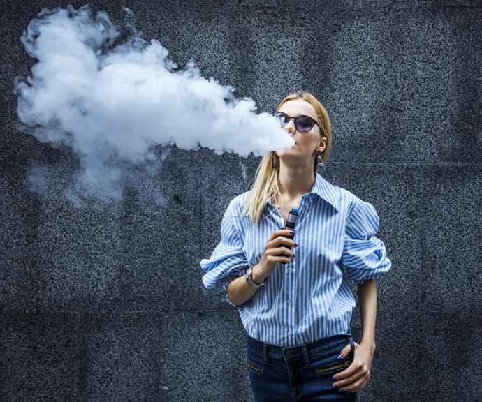 Turns out vaping probably isn't healthier than smoking cigarettes.