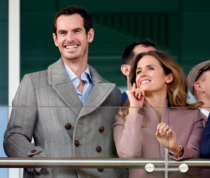 Murray and his wife Kim Sears have just welcomed their third child.