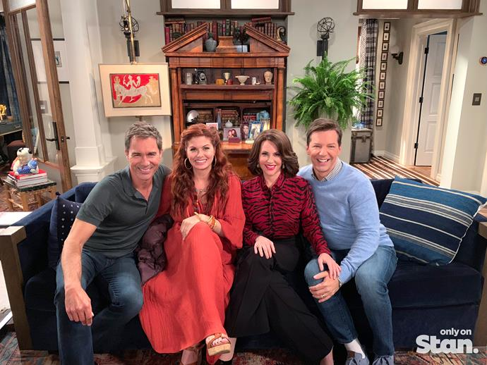 The cast of Will & Grace.