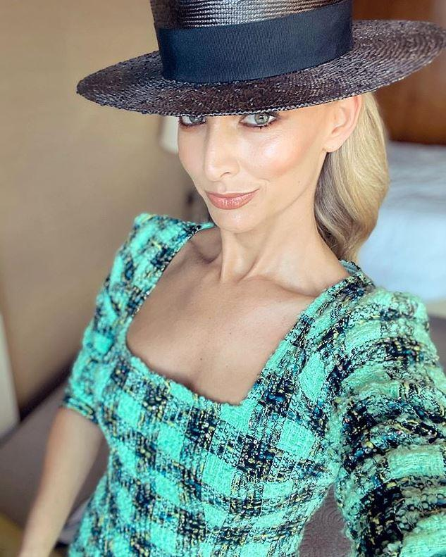 Anna Heinrich has brought a splash of tartan to the tracks.