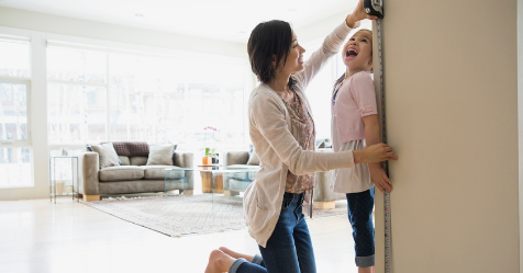 The simple trick to work out how tall your kids will be | Australian Women's Weekly