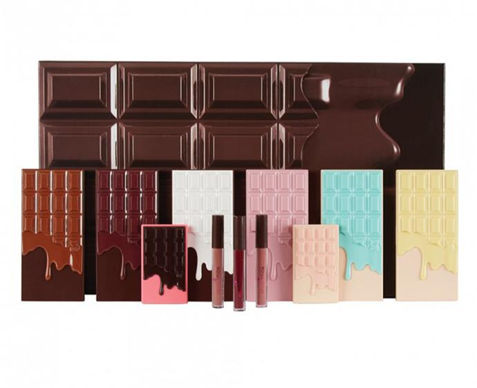 "**I Heart Revolution Chocolate Vault, $90 at [Priceline](https://www.priceline.com.au/revolution-chocolate-vault-set-11-piece|target=""_blank""
