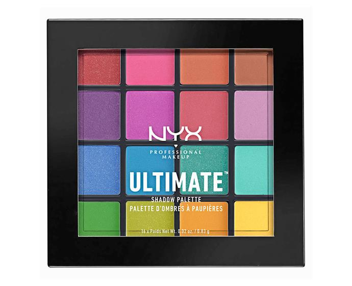 "**NYX Professional Makeup Ultimate Shadow Palette, $37.95 at [Priceline](https://www.priceline.com.au/brand/nyx-professional-makeup/nyx-professional-makeup-ultimate-shadow-palette-13-3-g|target=""_blank""