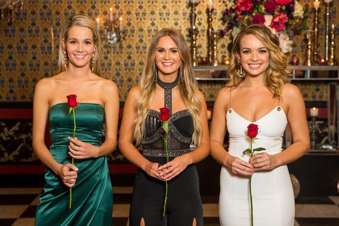 Abbie (right) became a 'villain' on The Bachelor earlier this year.