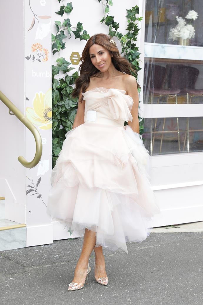 """Talented Aussie stylish [Lana Wilkinson](https://www.nowtolove.com.au/fashion/fashion-news/lana-wilkinson-bec-judd-56028 target=""""_blank"""") is a real-life angel in this heavenly pink tulle design."""