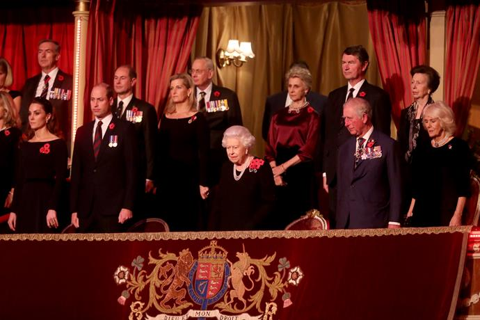 A right royal spectacle!