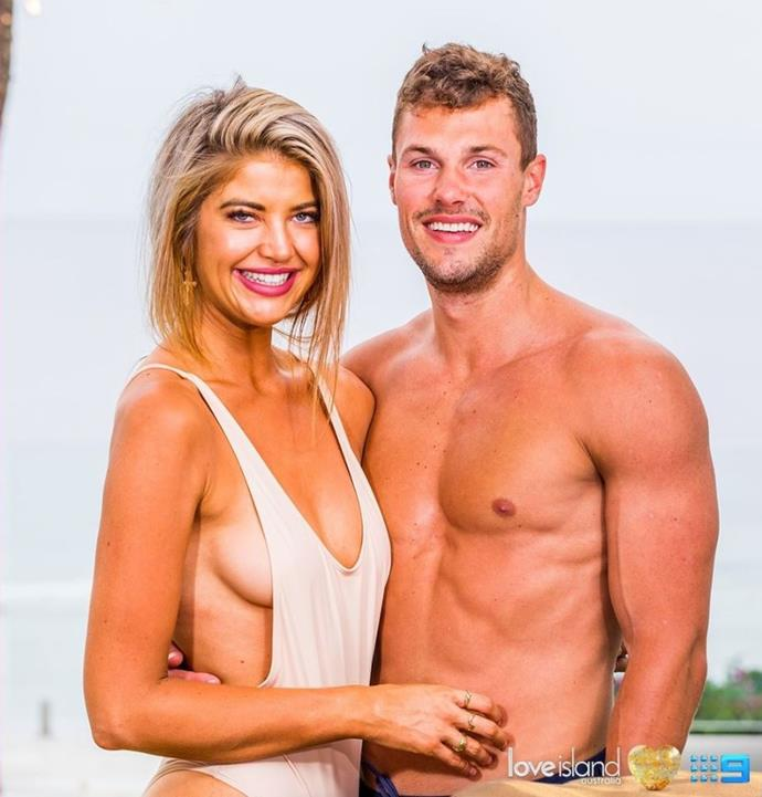 Now that Adam's out, King and Queen of the Villa are Josh and Anna.