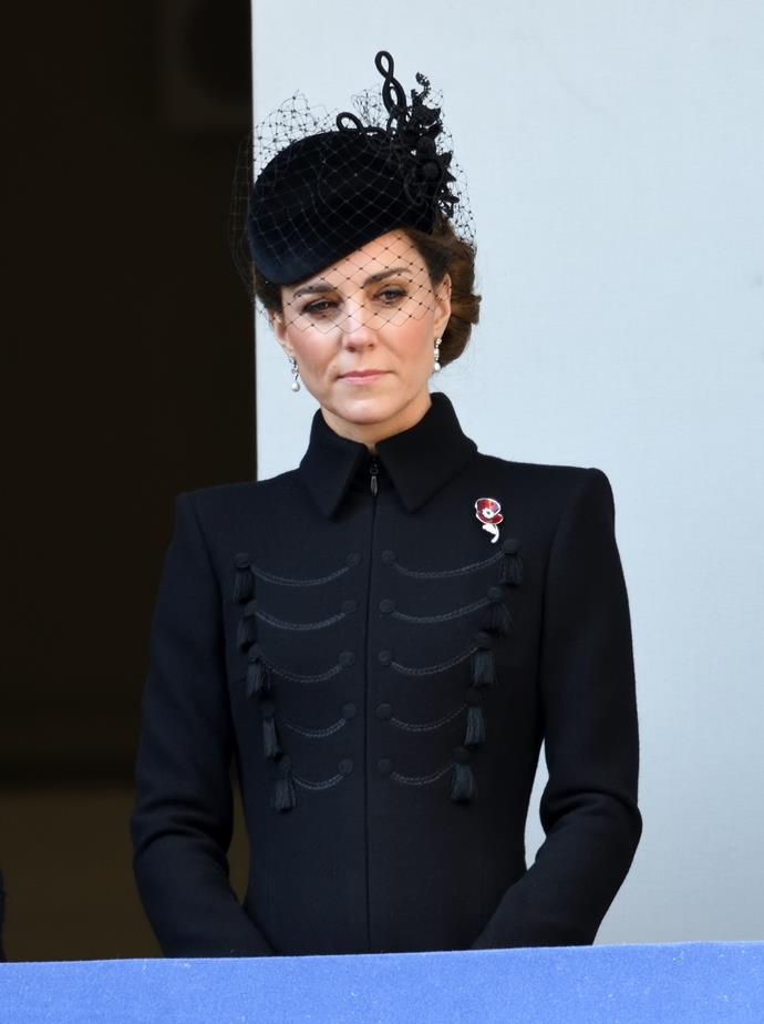 The Duchess of Cambridge's brooch was a sweet nod to her late grandmother.