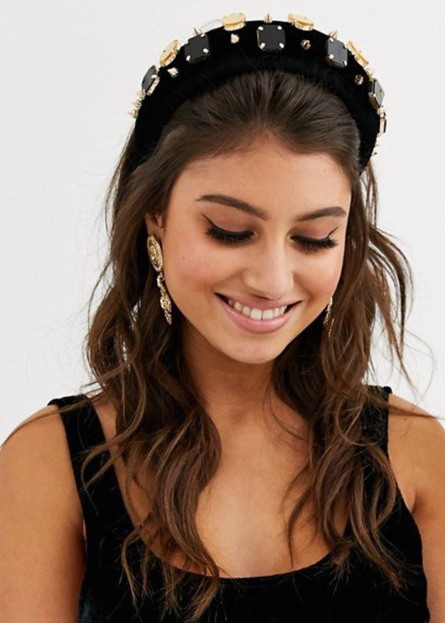 "ASOS design statement padded headband with luxe embellishment, $28.50. [Buy it online here](https://www.asos.com/au/asos-design/asos-design-statement-padded-headband-with-luxe-embellishment/prd/13120339|target=""_blank""