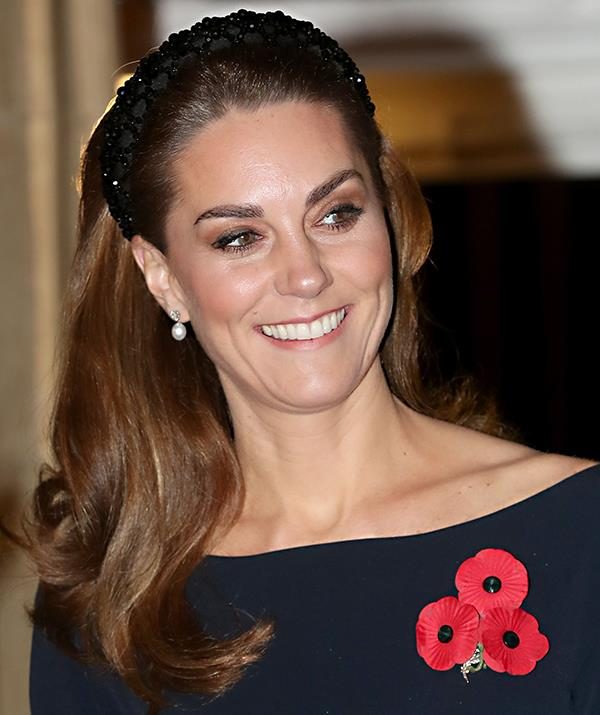 Kate's headband was bang on trend.