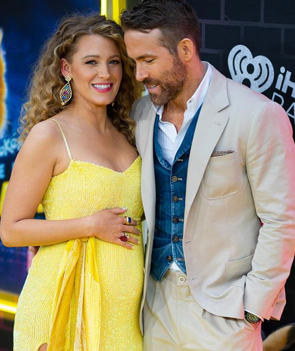 **Blake Lively and Ryan Reynolds** <br><br> Blake and Ryan kept the birth of their third child a secret for two months before the news was finally reported in October.
