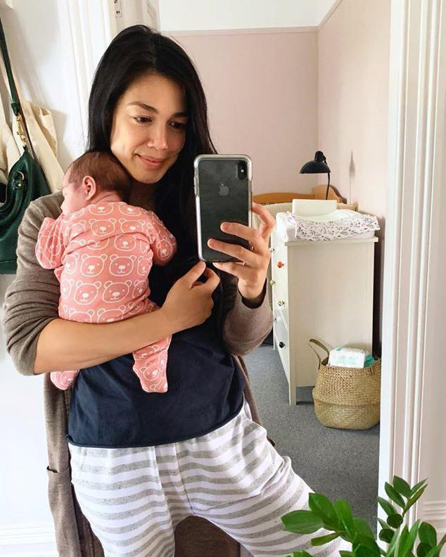 **Melanie Vallejo** <br><br> *Winners & Losers* star Melanie Vallejo became a mum for the second time in October. Meet Luna Grace Kingston!