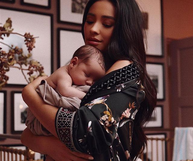 **Shay Mitchell** <br><br> *Pretty Little Liars* fans rejoiced when Shay Mitchell's baby girl entered the world in October.
