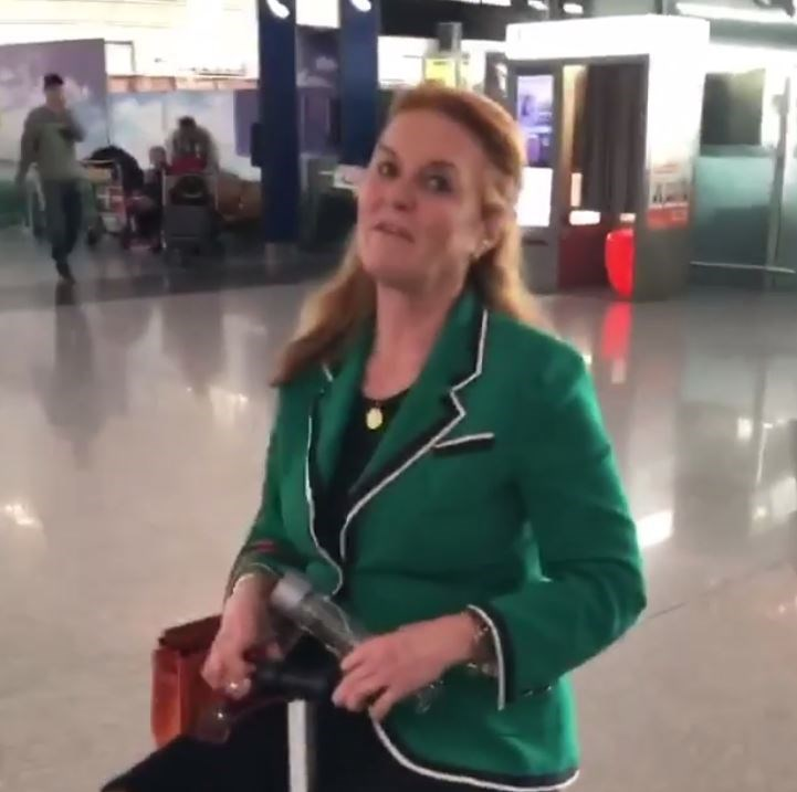 The Duchess of York sure knows how to make us giggle. *(Image: Instagram/@sarahferguson15)*