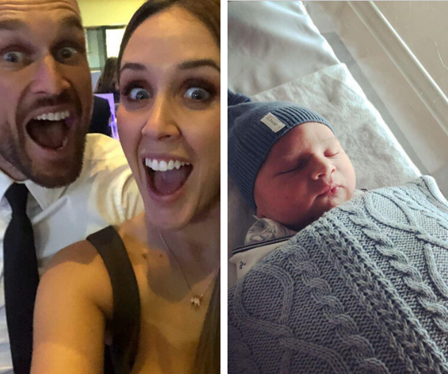 **Married At First Sight's Jono Pitman** <br><br> ''And just like that two became three!'' Congratulations were in order for *Married At First Sight's* Jono Pitman who became a dad to Max Thomas in July.