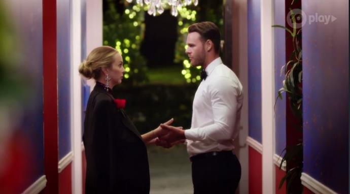 """During the same cocktail party, Angie apologised to Carlin for not trusting him.  <br> At the same time, [Timm](https://www.nowtolove.com.au/reality-tv/the-bachelorette-australia/the-bachelorette-timm-cooking-59978