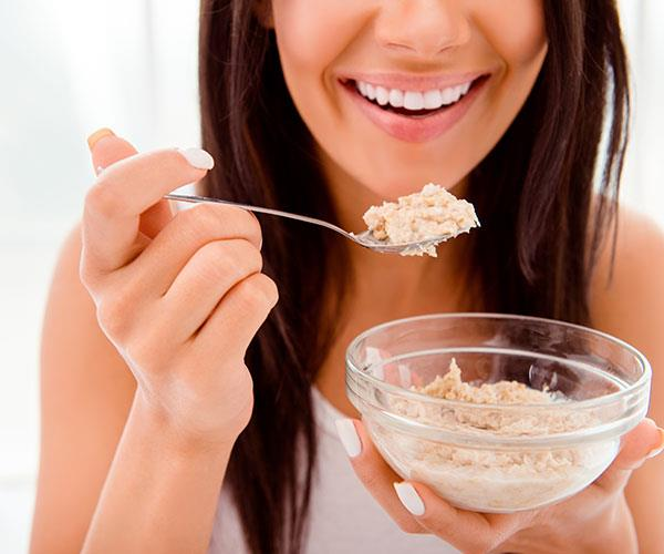Choose porridge over granola.