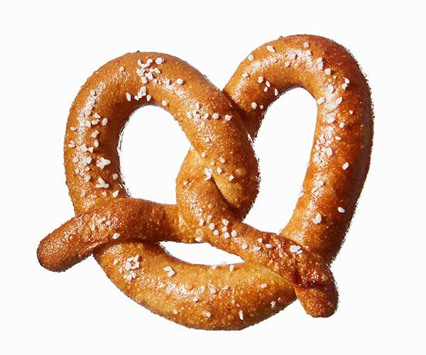 Pretzels have no nutrients to fill you up.