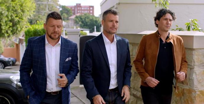 Manu, Pete and Colin star in *My Kitchen Rules: The Rivals.*