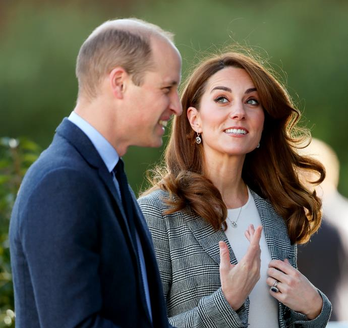 Kate and Wills were in their element for the event.