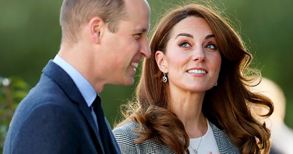 Kate Middleton & Prince William share a PDA at Shout charity event   Australian Women's Weekly