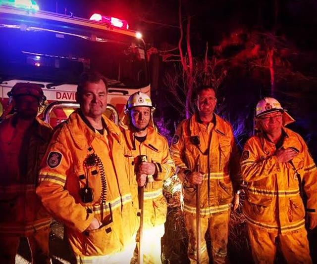 The Rural Fire Service relies heavily on volunteers.