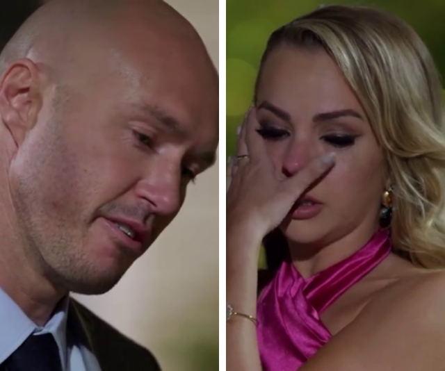 Ryan was left heartbroken when Angie eliminated him.