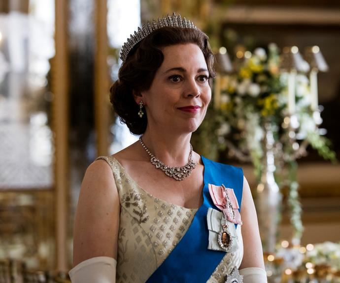 Olivia Colman stars as Queen Elizabeth in the third season of Netflix's *The Crown*.