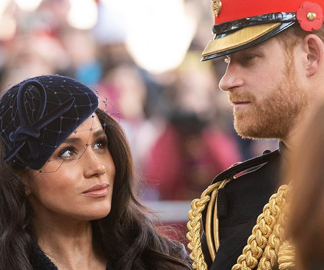 Meghan and Harry announced they wouldn't be spending Christmas with The Queen in 2019.