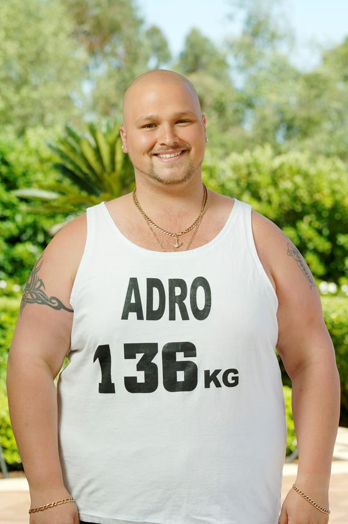 Adro won the first season of *The Biggest Loser* in 2006.
