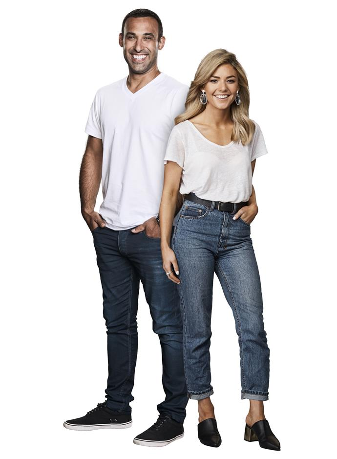 Adam Dovile and Sam Frost.