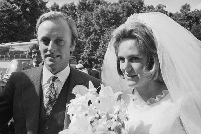 Camilla married Andrew Parker Bowles in 1973.