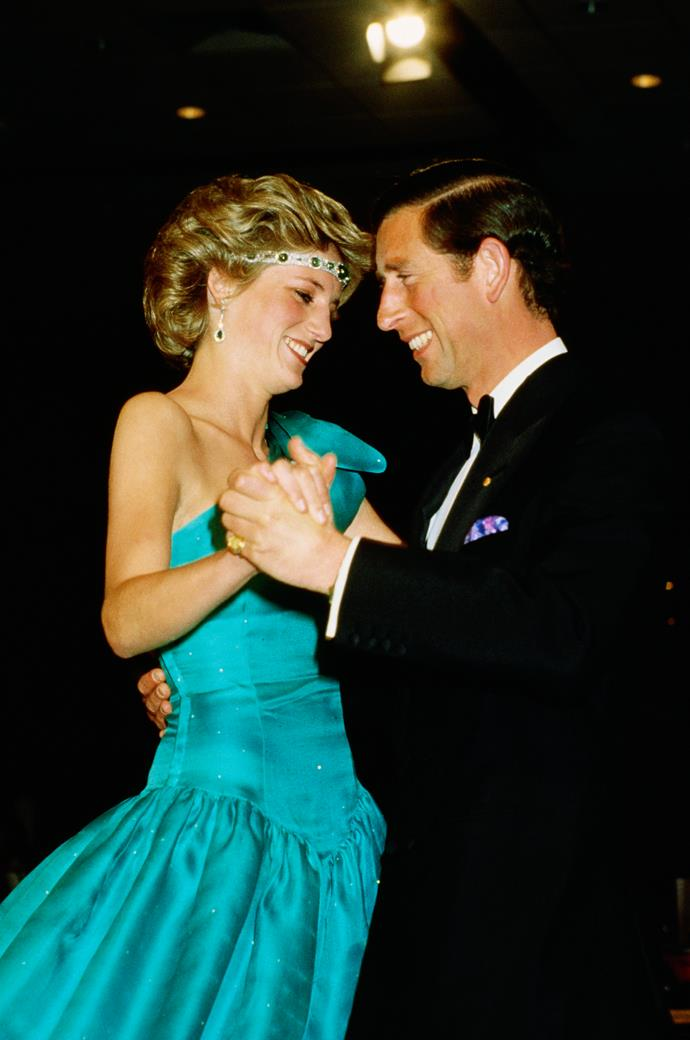 Charles and Diana met in 1977, and were married in 1980.