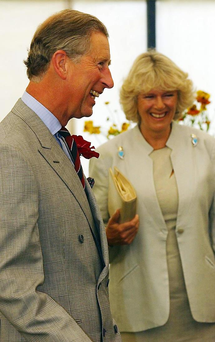 Charles and Camilla slowly started to take their relationship public in the early 2000s.