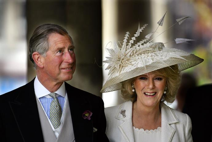 Charles and Camilla were married in a civil ceremony in 2005.
